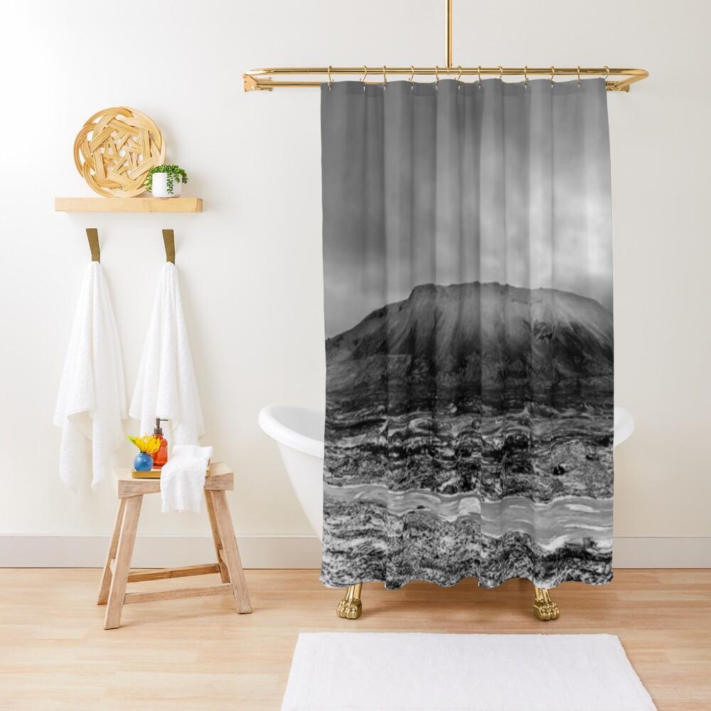 Гора Шмидтиха - ГОРА ШМИДТА. ПАНОРАМА Shower Curtain