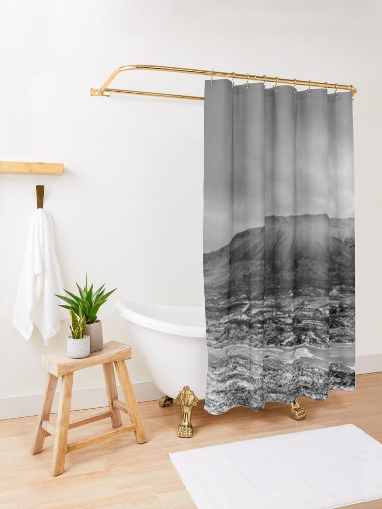 Alternate view of Гора Шмидтиха - ГОРА ШМИДТА. ПАНОРАМА Shower Curtain