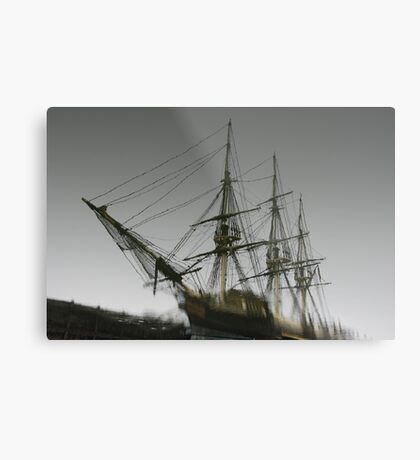 Ghost Ship of Salem, Massachusetts Metal Print