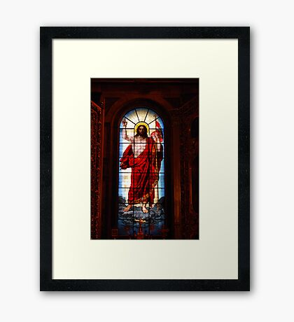 The Alter, St Isaac's Cathedral, St Petersburg Framed Print