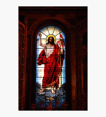 The Alter, St Isaac's Cathedral, St Petersburg Photographic Print