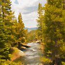 Frazier Creek by Mick Burkey