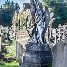 Cemetery Headstone by Dave Hare