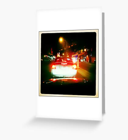 the drive Greeting Card