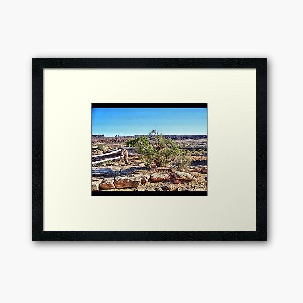 Rocks of Utah Framed Art Print