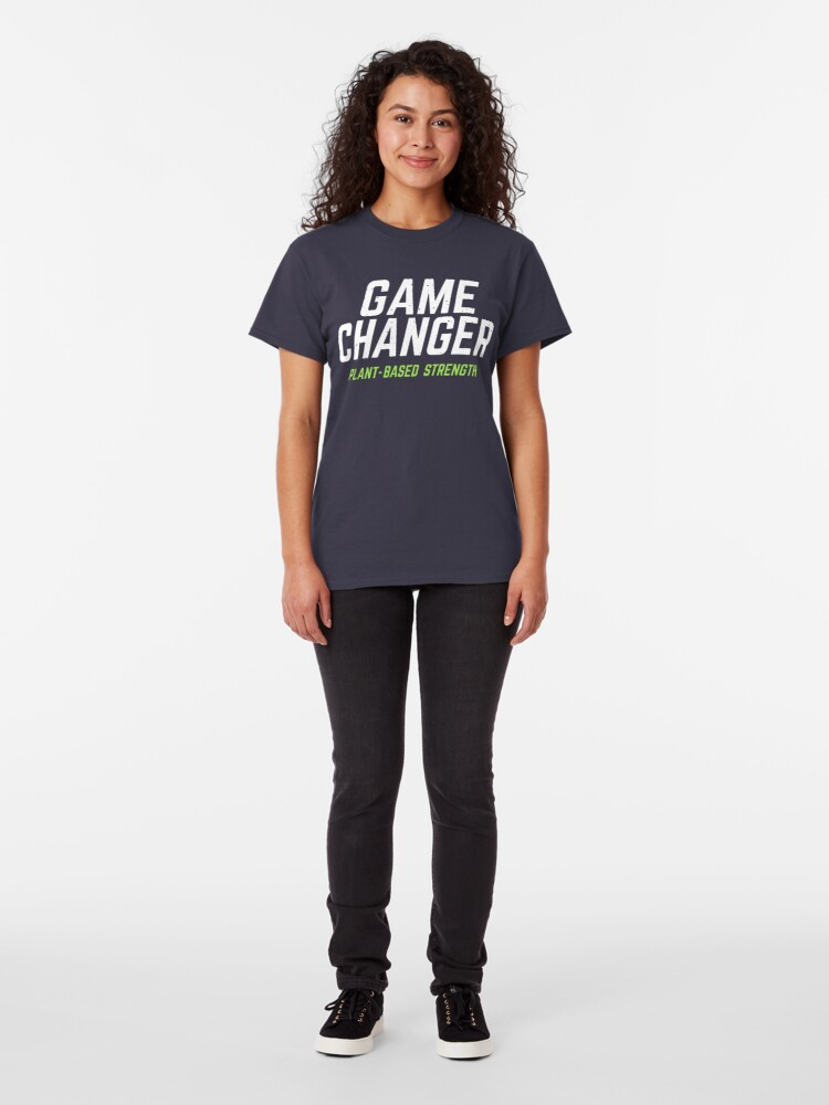 Alternate view of Game Changers Plant Based Strength Classic T-Shirt