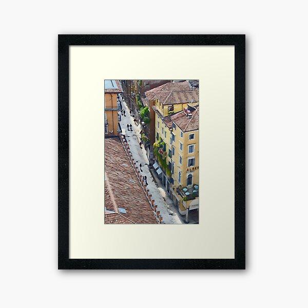 Springtime in Verona Framed Art Print