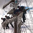 Foresail replacement - Lady Nelson by Odille Esmonde-Morgan