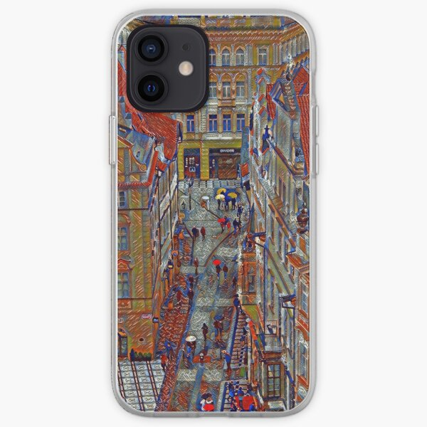 Kafkian Prague iPhone Soft Case