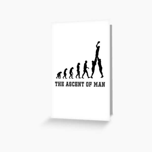 The Ascent Greeting Card