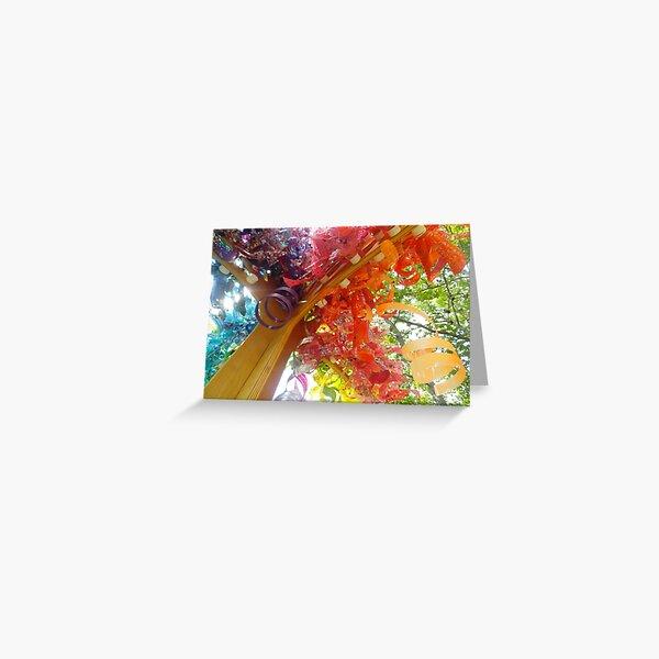 Rainbow Installation Greeting Card