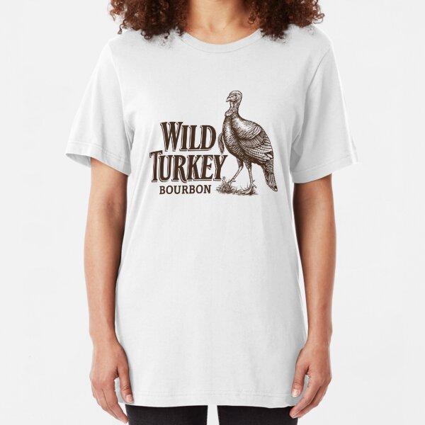 Wild Turkey Bourbon Slim Fit T-Shirt