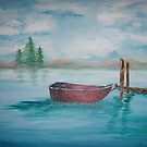 Chilled Day on the Lake by Jennifer Ingram
