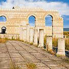 Pliska Great Basilica by Nickolay Stanev