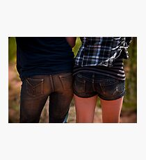 Two bums! Photographic Print