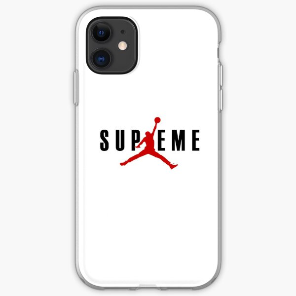 JORDAN x SUPREME iPhone Soft Case