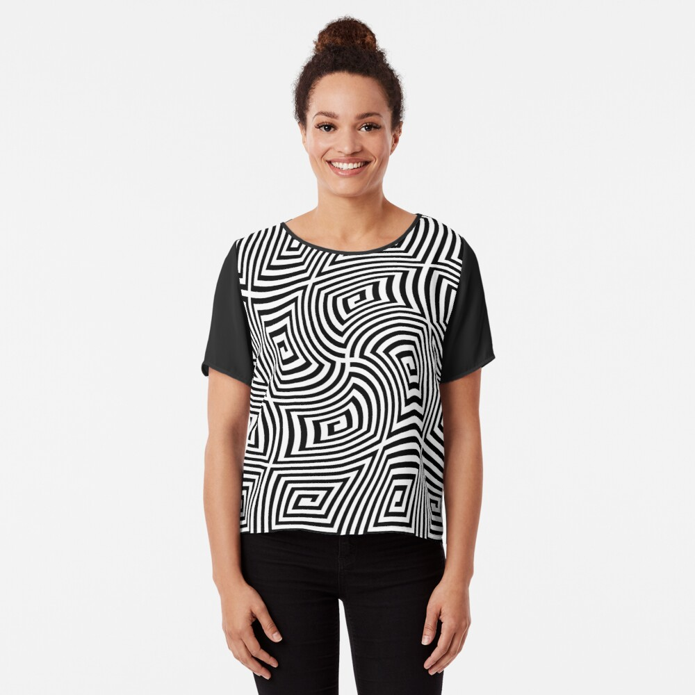 Optical Illusions,  ssrco,chiffon_top,womens,black,front,square_three_quarter,x1000-bg,f8f8f8