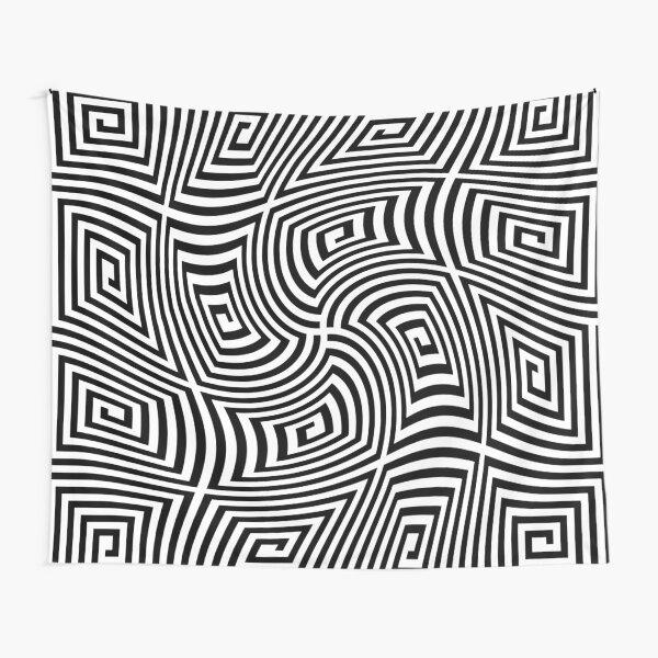 #Optical #illusions, #Visual illusion, Optical #Art Tapestry