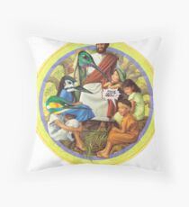 M Blackwell - This isn't Real... Throw Pillow