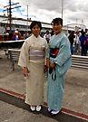 Hostesses, Japanese Village by Odille Esmonde-Morgan