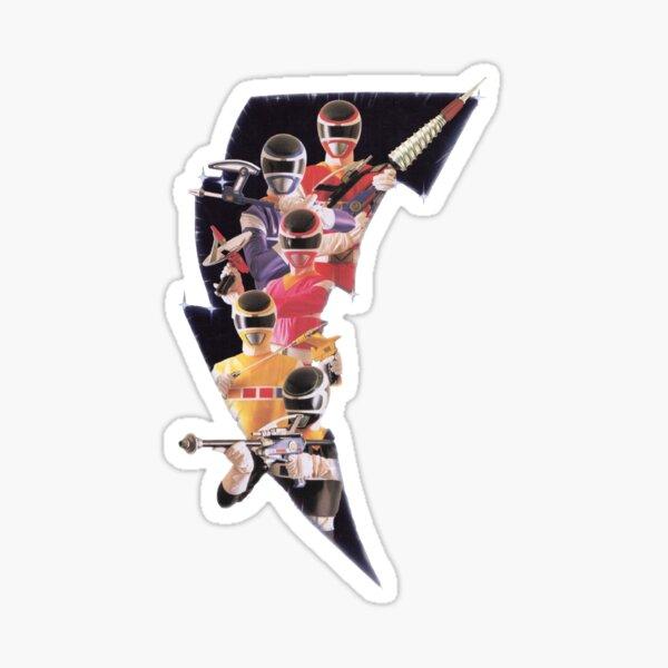 The Megarangers Sticker