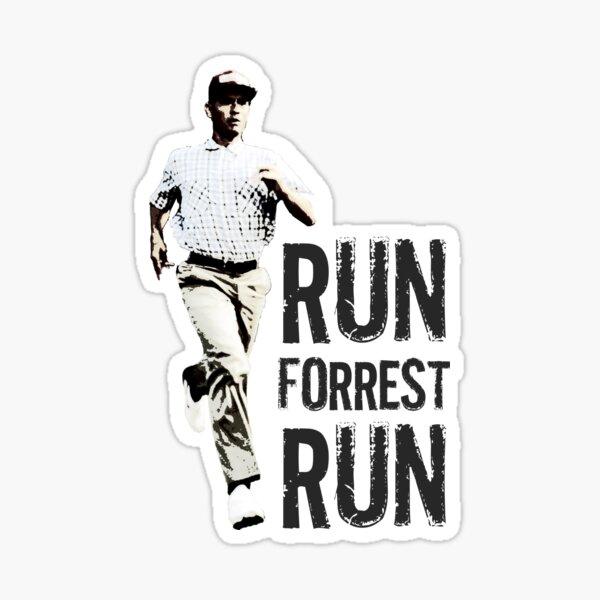 Run Forest Run (Forest Gump) Sticker