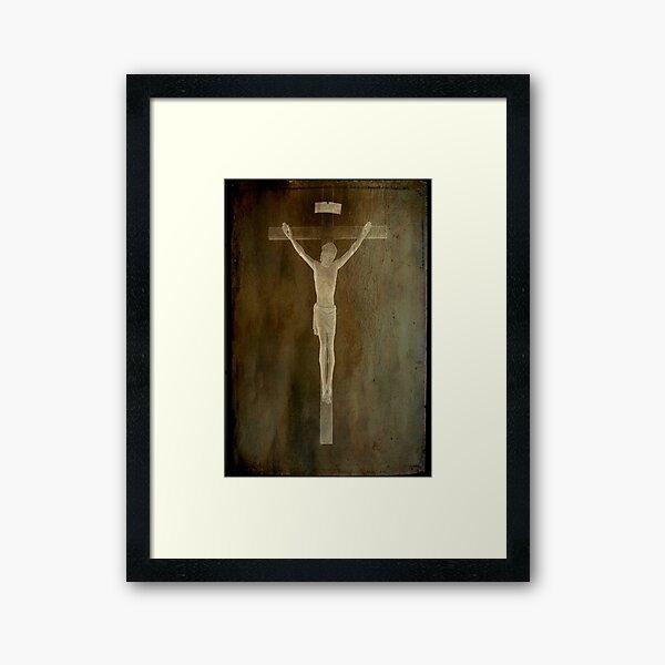 Because He Loves us...©  Framed Art Print