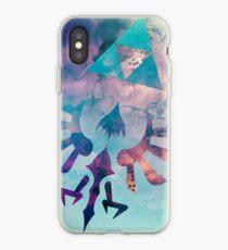 Vinilo o funda para iPhone Watercolored Hylian Crest