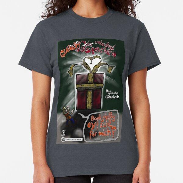 Das geilste Geschenk - gleich unbedingt auspacken! - A-Seite Classic T-Shirt