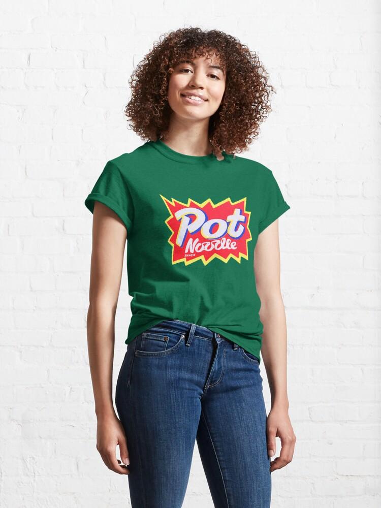 Alternate view of Pot Noodle Instant Snack design  Classic T-Shirt
