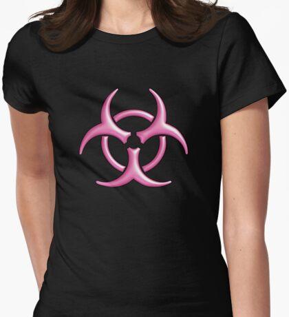 Biohazard Logo (Pink) T-Shirt