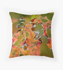Autumn Decay Throw Pillow