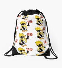 Safety Peng Drawstring Bag