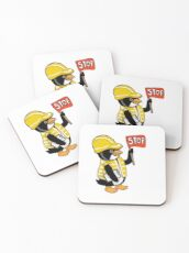 Safety Peng Coasters