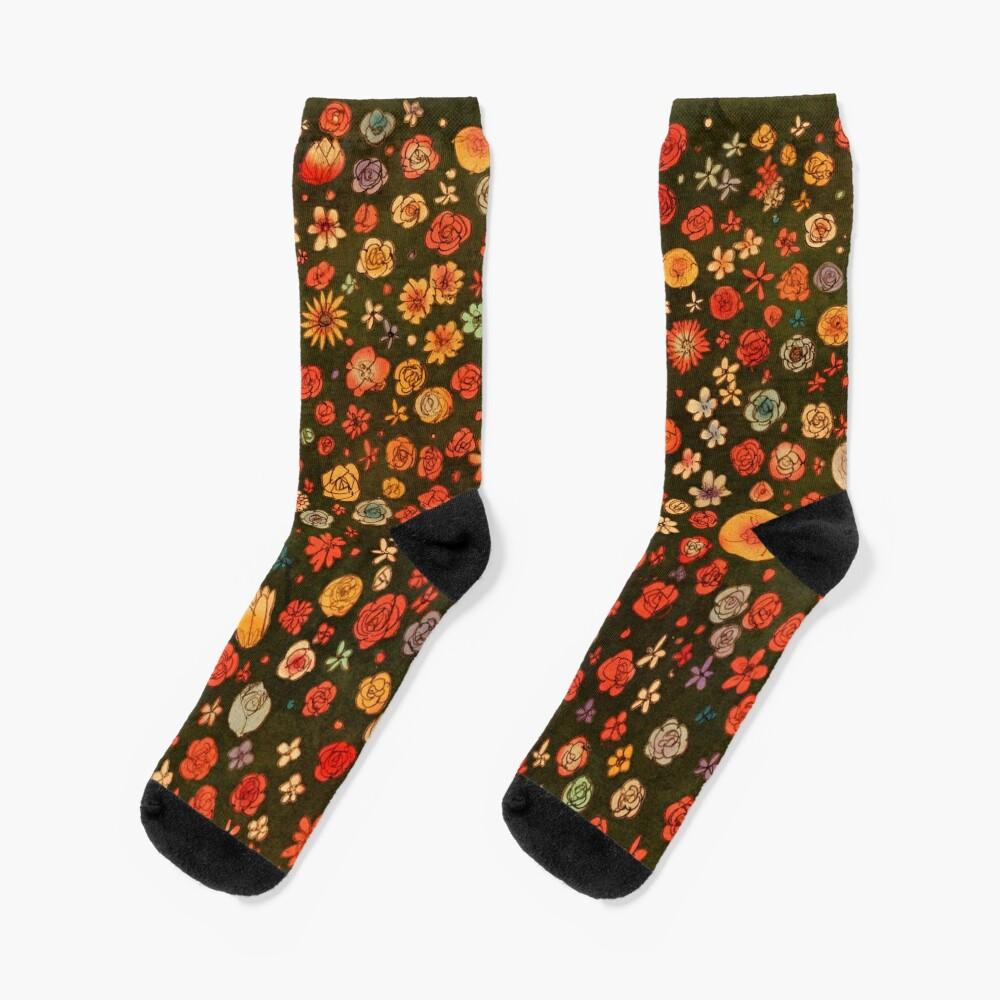 Flowers Socks