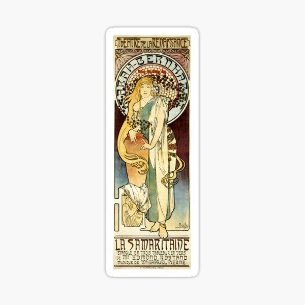 The Samaritan, Alphonse Mucha 1897  Sticker