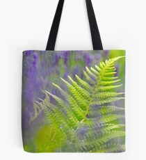 Fern with Bluebells Tote Bag