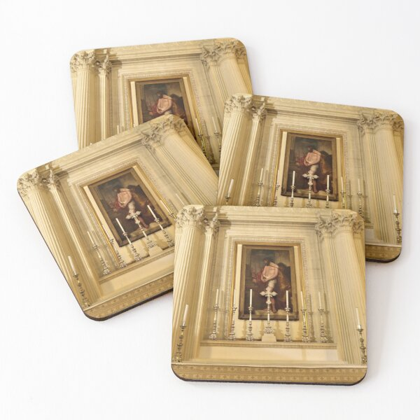 St Paul's Pro Cathedral Altar...................Valletta Coasters (Set of 4)
