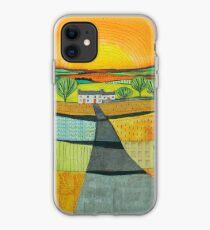 Summer Sun Landscape iPhone Case