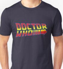 Back to Doctor Who Mash Up  Unisex T-Shirt