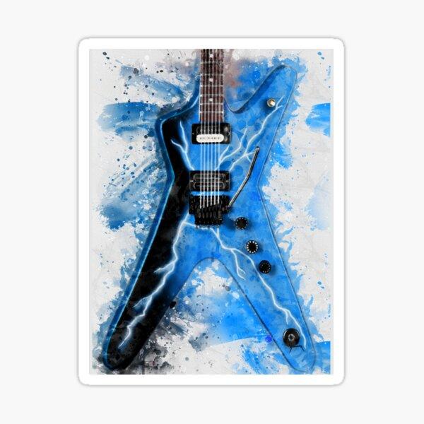 Dimebag's Guitar Sticker