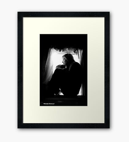 Your Rudeness is a Neurotoxin to Me, Self Portrait Framed Print