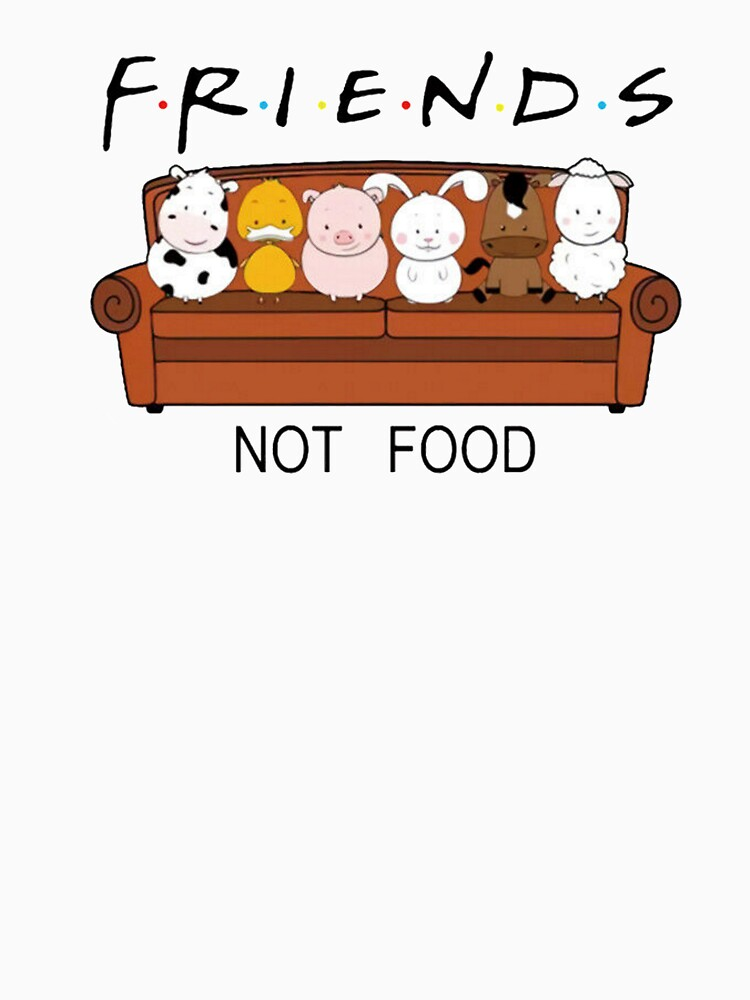 Friends Not Food by AdesignTEE