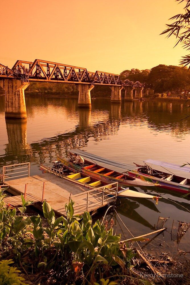 Bridge on the River Kwai by Kerry Dunstone