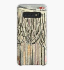 Winter Trees Case/Skin for Samsung Galaxy