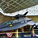 SR-71 Blackbird by Tim Wright