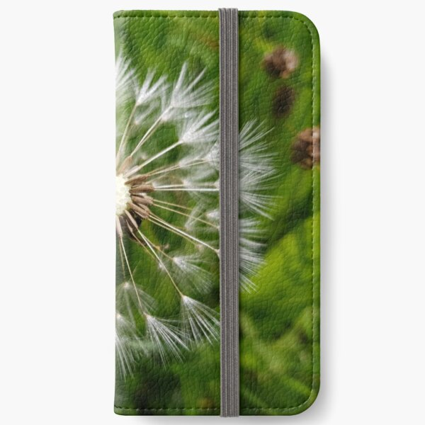 Dandelion iPhone Wallet