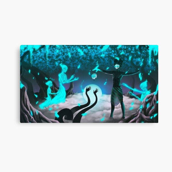 Midnight Offering  Canvas Print