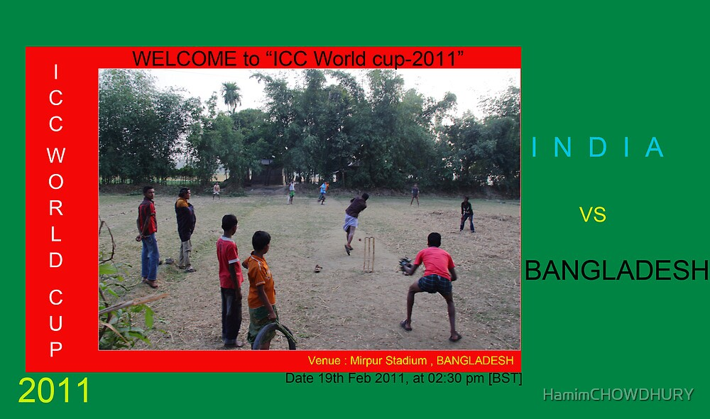 ICC World Cup 2011  by HamimCHOWDHURY