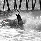 Pier Surfing by JGetsinger
